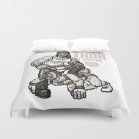 finland Duvet Covers featuring Thor of Finland by Randy Meeks