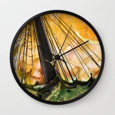 Battle of Trafalgar Wall Clock
