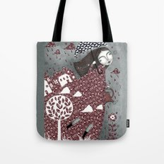 Clouds in July, Raindrop Sky Tote Bag
