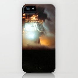 A-1 Test Stand Night Firing iPhone Case