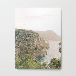 Relaxing Sunset View | Fine Art Travel Photography | Shot on Ibiza Metal Print