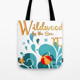 Oh Those Wildwood Daze Tote Bag