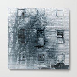 Back Roads House Metal Print