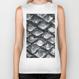 Palm tree trunk pattern Biker Tank