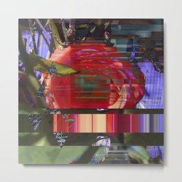 Twisted Rose v12 Metal Print