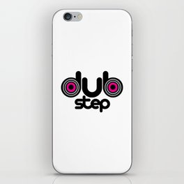 Dubstep Speakers Rave Quote iPhone Skin