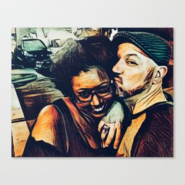Fausto and Candice Canvas Print