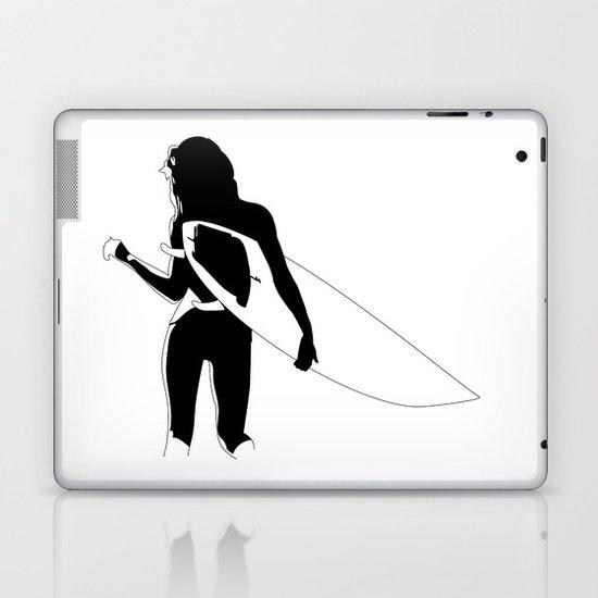 Surf Chick Laptop & iPad Skin