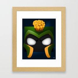 Marvin Squared Framed Art Print