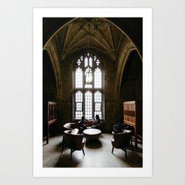 Exam Time at University of Toronto Art Print