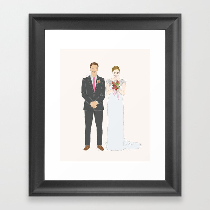 This 75 Custom Portrait Is The Most Thoughtful Wedding Gift Ever