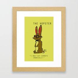 THe Hoppster Framed Art Print