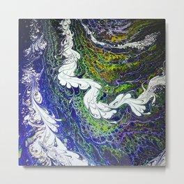 The River Brilliant 3 Metal Print