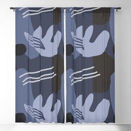 Abstract Desert Southwest Series - Desert Night Blackout Curtain