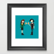 Freakin' Friends II Framed Art Print