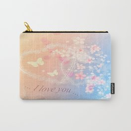 ... i love you ... Carry-All Pouch