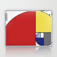 Mondrian vs Fibonacci Laptop & iPad Skin