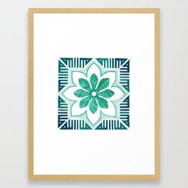 Geoflor Allah Framed Art Print