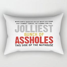 Jolliest Bunch Of Assholes Rectangular Pillow