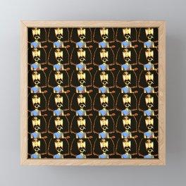 Zappa Framed Mini Art Print