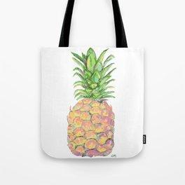 Brite Pineapple Tote Bag