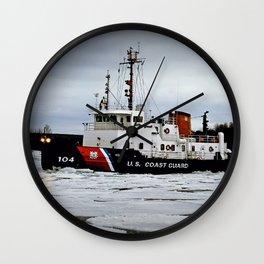 Biscayne Bay USCG Wall Clock
