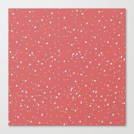 Funny dots Canvas Print