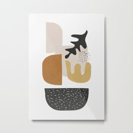 Abstract Shapes  2 Metal Print