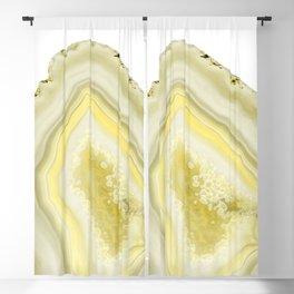 Lemon Twist Agate Dream #1 #gem #decor #art #society6 Blackout Curtain