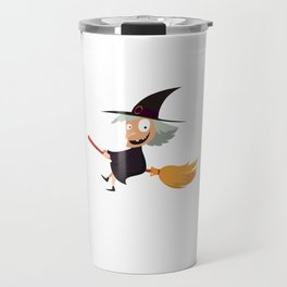 I'm Afraid The Good Witch Spooky Halloween Travel Mug