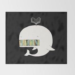 My Book Shelf Throw Blanket
