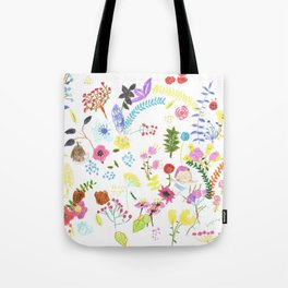 Double flower's flowers Tote Bag