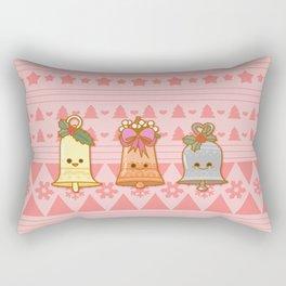 Xmas Bells Rectangular Pillow