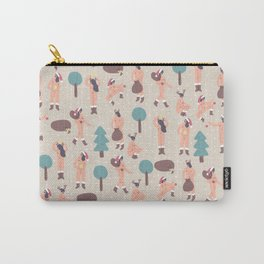 Christmas Nude Girls Carry-All Pouch