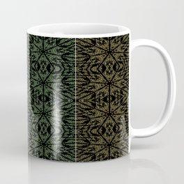 Unusual Rose Pattern 4 Squares Coffee Mug