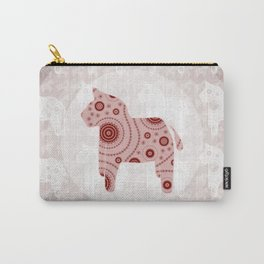 Toy Horse Pattern Carry-All Pouch