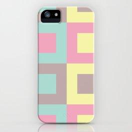 Sweet mosaic iPhone Case