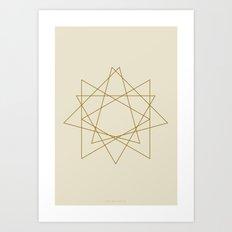 Geometric No.1 Art Print