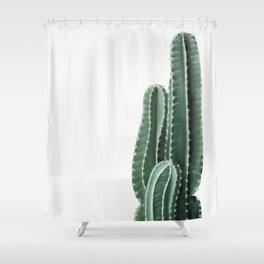 Cactus Wall Art Print. Botanical Art Print. Shower Curtain