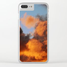 Sunset #207 Clear iPhone Case