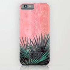 Palm on Pink wall II iPhone 6s Slim Case