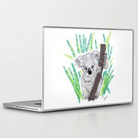 koala Laptop & iPad Skins featuring KOALA by Andrea Lacuesta Art