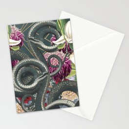 Tangled snakes Stationery Cards