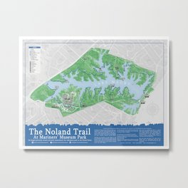 The Noland Trail 2nd Edition Metal Print