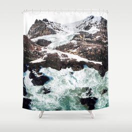 Sea and Mountains Shower Curtain