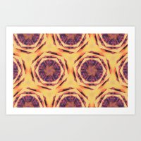 Sugarplum Paws Art Print