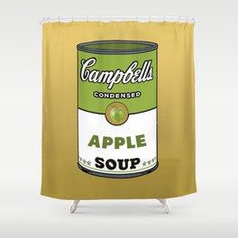 Apple Soup Shower Curtain