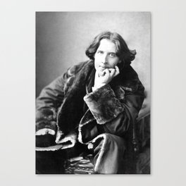 The Picture of Oscar Wilde Canvas Print