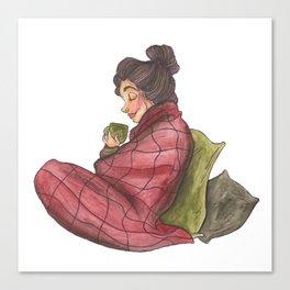 Snuggled Up Canvas Print