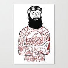 Matt the Hack Canvas Print